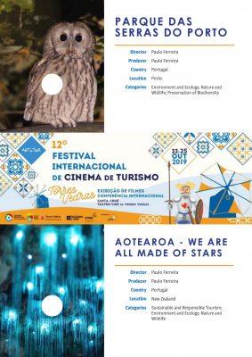 Filmes nomeados no ART&TUR