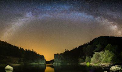 Panorâmica Via Láctea